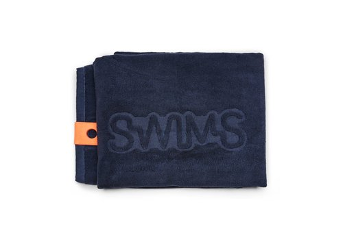 SWIMS SWIMS TOWEL NEW NAVY