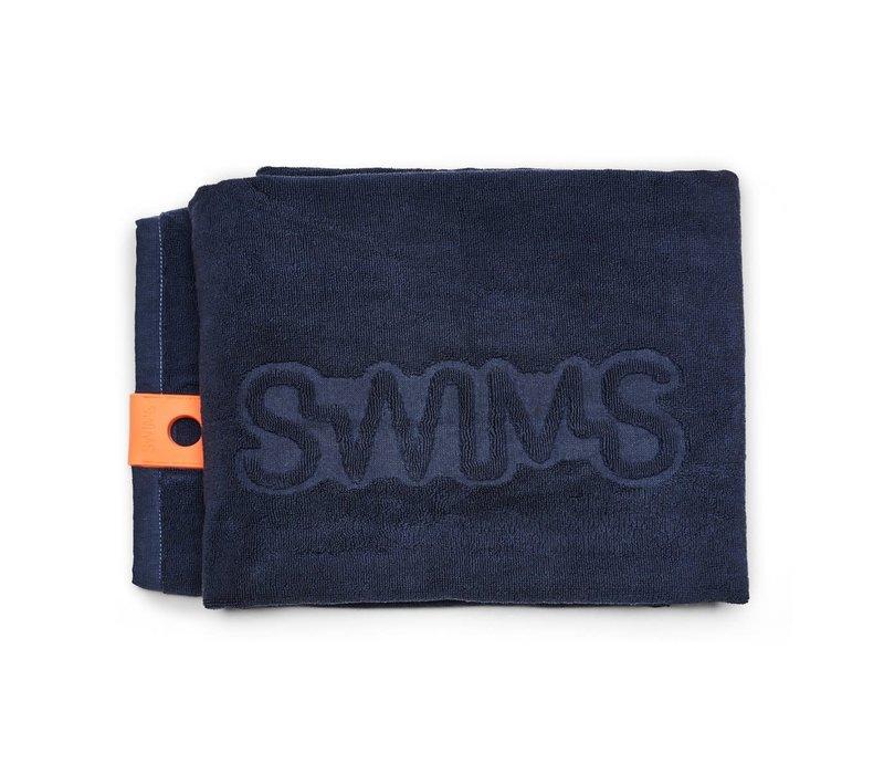 SWIMS TOWEL NEW NAVY