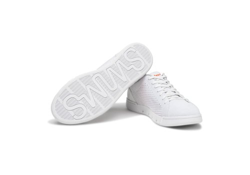 SWIMS SWIMS BREEZE TENNIS KNIT WHITE
