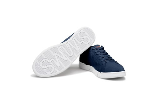 SWIMS SWIMS BREEZE TENNIS KNIT NAVY WHITE