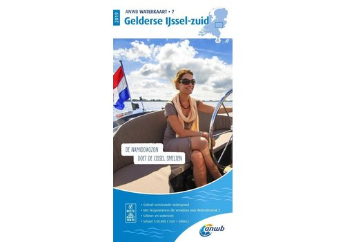 ANWB Waterkaart 7 Gelderse IJssel-Zuid 2019