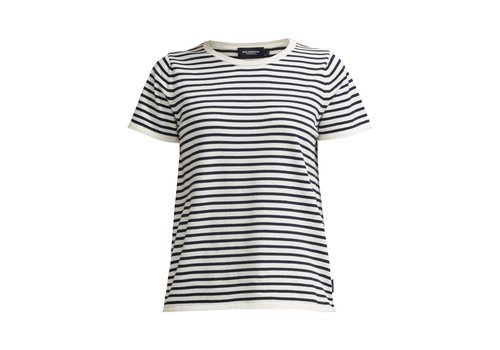 Holebrook HOLEBROOK LOLLO TEE OFFWHITE/NAVY
