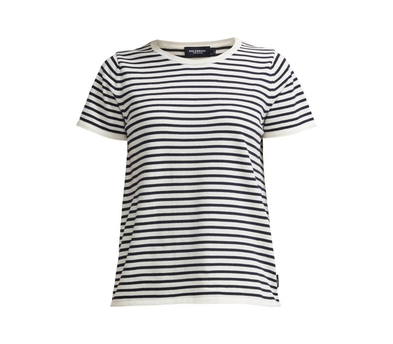 HOLEBROOK LOLLO TEE OFFWHITE/NAVY