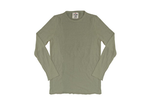MC2 Saint Barth Mc2 Saint Barth Ecstasea Linen Knit Long Sleeves Military