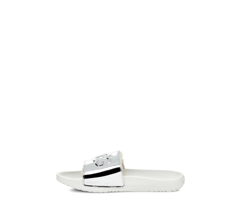 UGG ROYALE GRAPHIC METALLIC SILVER