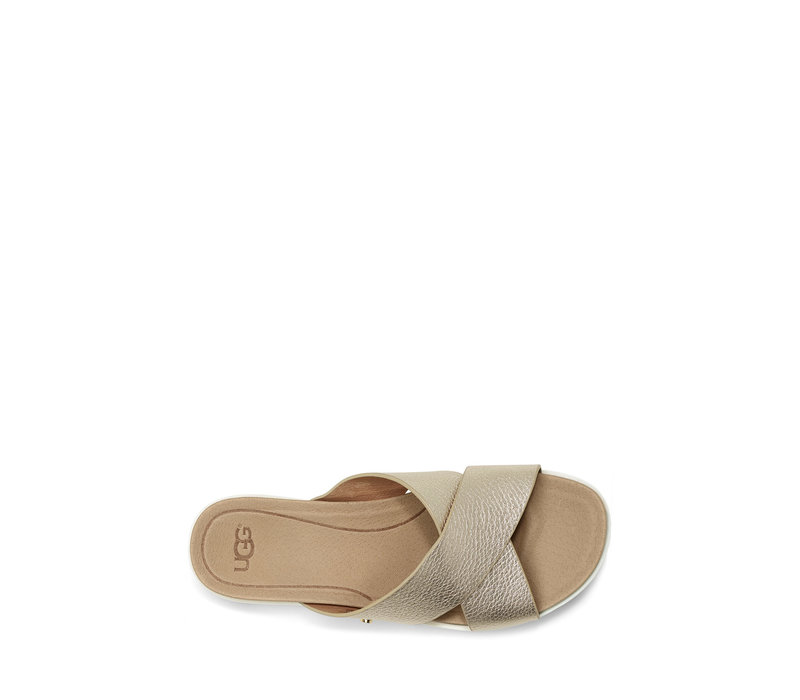 UGG KARI METALLIC GOLD