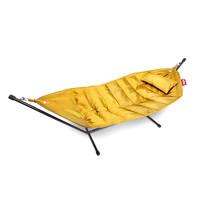 Fatboy® headdemock deluxe yellow ochre incl. hoofdkussen en beschermhoes