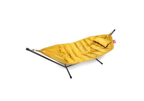 Fatboy Fatboy® headdemock deluxe yellow ochre incl. hoofdkussen en beschermhoes