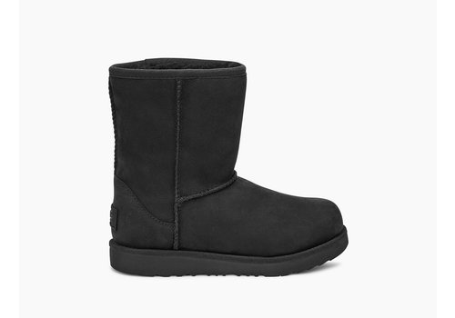 Ugg CLASSIC II SHORT BLACK WATERPROOF JR