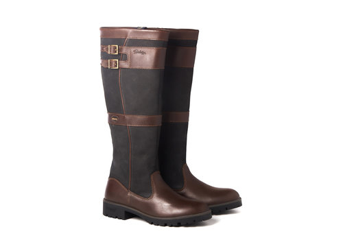 Dubarry DUBARRY LONGFORD OUTDOOR LAARS BLACK/BROWN