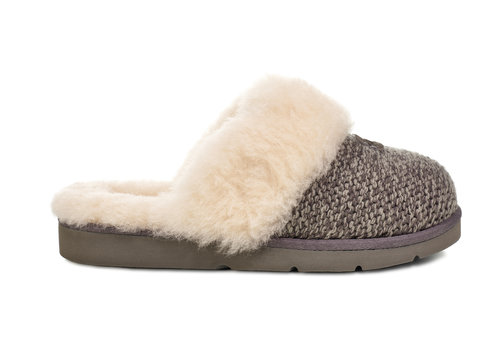 Ugg Women's Cozy Knit Slipper Charcoal