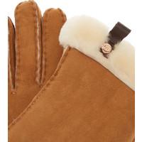 Ugg Shorty Glove Leather Chestnut