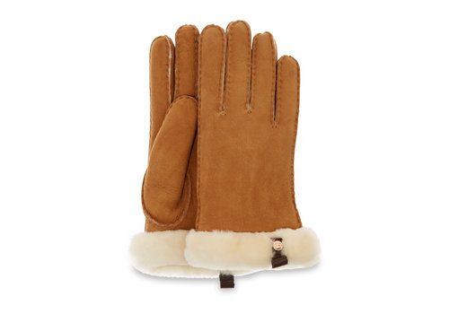 Ugg Ugg Shorty Glove Leather Chestnut