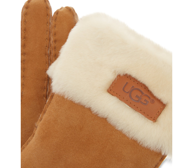 Ugg Turn Cuff Glove Chestnut