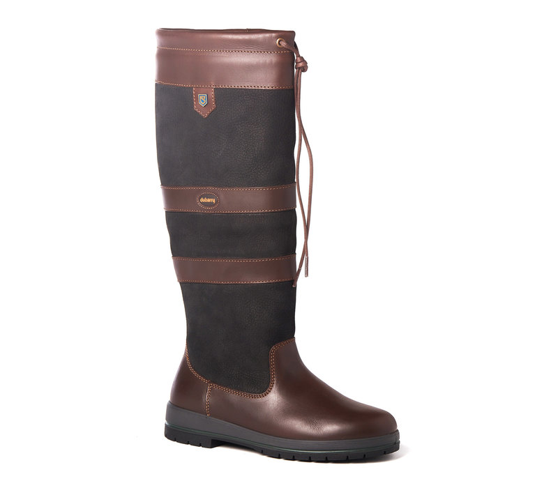DUBARRY GALWAY OUTDOOR LAARS BLACK/BROWN