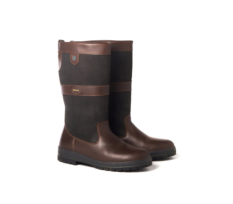 DUBARRY KILDARE OUTDOOR LAARS BLACK/BROWN