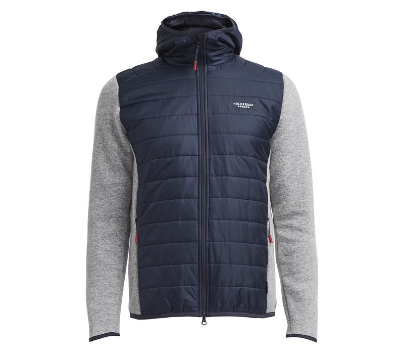 Holebrook Morgan Hood WP Navy Grey Mel.
