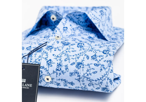 Park Lane Park Lane Shirt Flower Light Blue