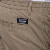 Park Lane Shorts Basic Elastic Waist Sand