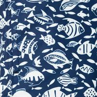 Park Lane Swimtrunk Fish Print Pattern