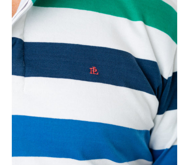 Park Lane Rugby Sweater White