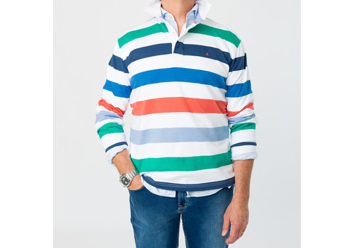 Park Lane Park Lane Rugby Sweater White