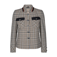Mos Mosh Selby Anchor Jacket Beige