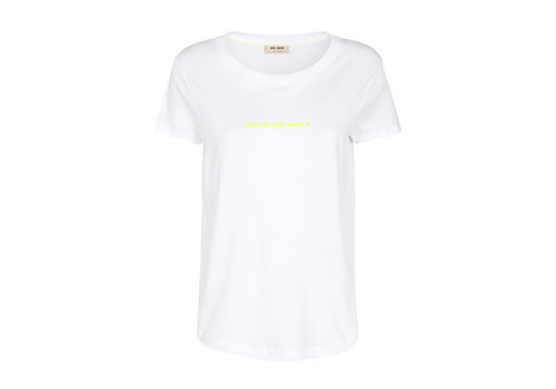 Mos Mosh Mos Mosh Passion Flock T-shirt White