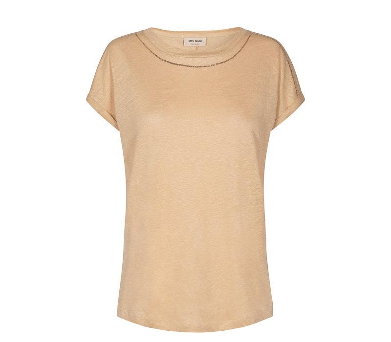 Mos Mosh Ina Sequin T-shirt Safari