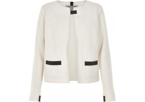HENRIETTE STEFFENSEN Henriette Steffensen Cardigan Short 7109 Off White
