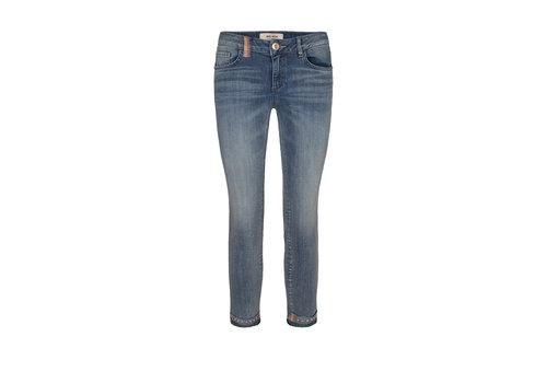 Mos Mosh Mos Mosh Summer Ida Troks Jeans Blue Cropped