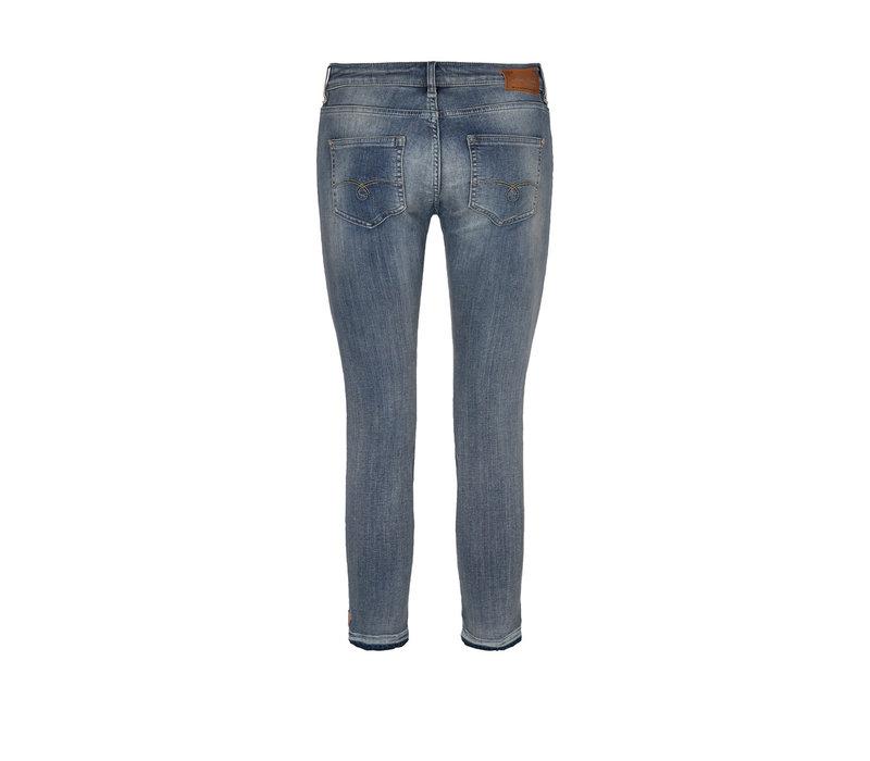 Mos Mosh Summer Ida Troks Jeans Blue Cropped
