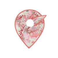 POM Shawl Full of Luck Raspberry by Katja