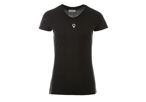 PENN&INK Penn & Ink T-shirt Print Asphalt White