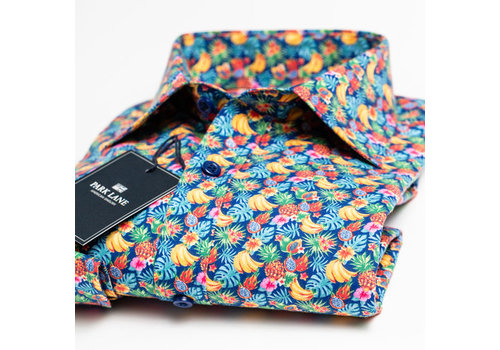 Park Lane Park Lane Shirt Flower Multi Colour