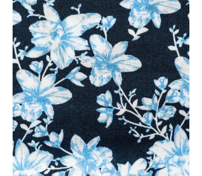 Park Lane Shirt Flower Light Blue
