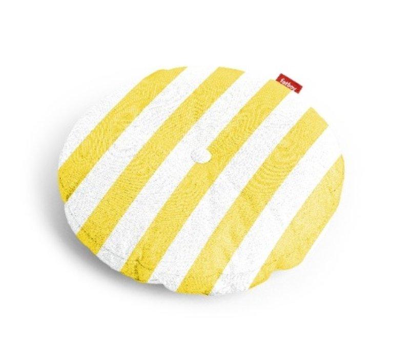 Fatboy Circle Pillow Stripe Yellow