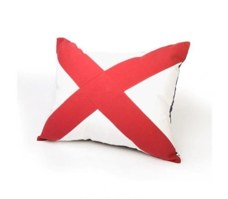 Signalflag pillow 50x60 cm V #