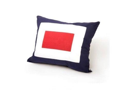 ARC Marine Signalflag pillow 50x60 cm W #