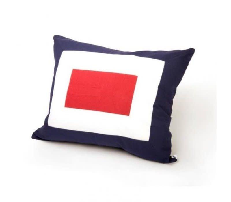 Signalflag pillow 50x60 cm W #