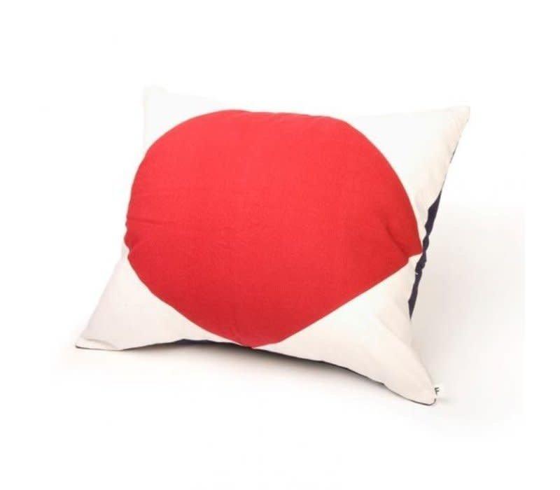 Signalflag pillow 50x60 cm F #