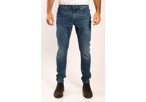 Amsterdenim Amsterdenim Jeans Jan Slim Fit Vaag Blauw L32