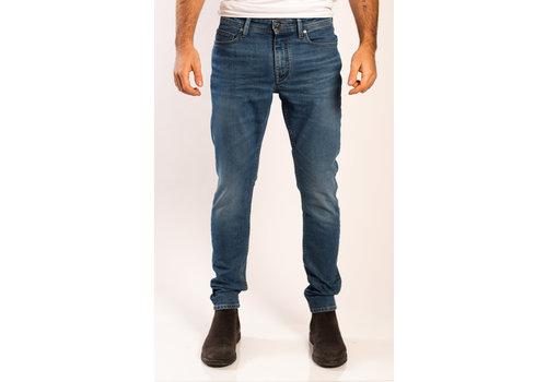 Amsterdenim Amsterdenim Jeans Jan Slim Fit Vaag Blauw L34