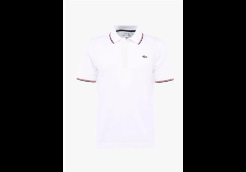 Lacoste Lacoste Men's Polo White/Corrida-Cosmic