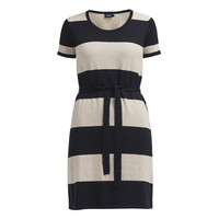 Holebrook Elly Tee Dress Navy Khaki