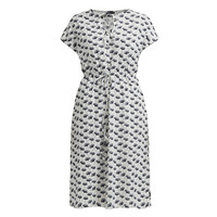 Holebrook Fiona Dress White Ginko dots