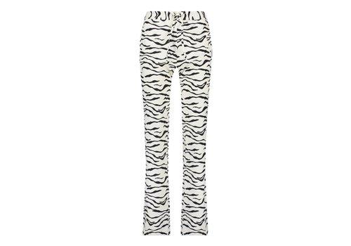 PENN&INK Penn & Ink Trousers AOP Zebra