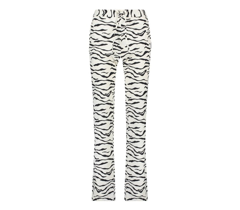 Penn & Ink Trousers AOP Zebra