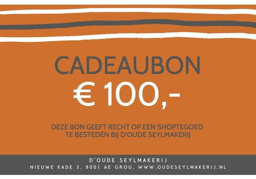 Cadeaubon € 100
