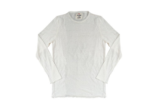 MC2 Saint Barth Mc2 Saint Barth Ecstasea Linen Knit Long Sleeves Off White